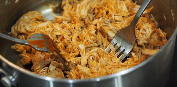 BBQ Flavoured Shredded Chicken