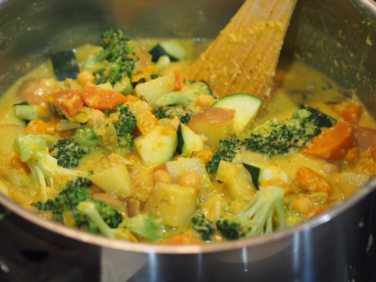 30 Minute Vegetable Curry