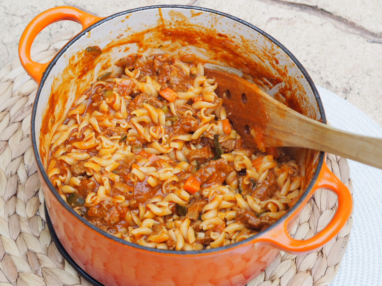 Beef Strip Bolognese