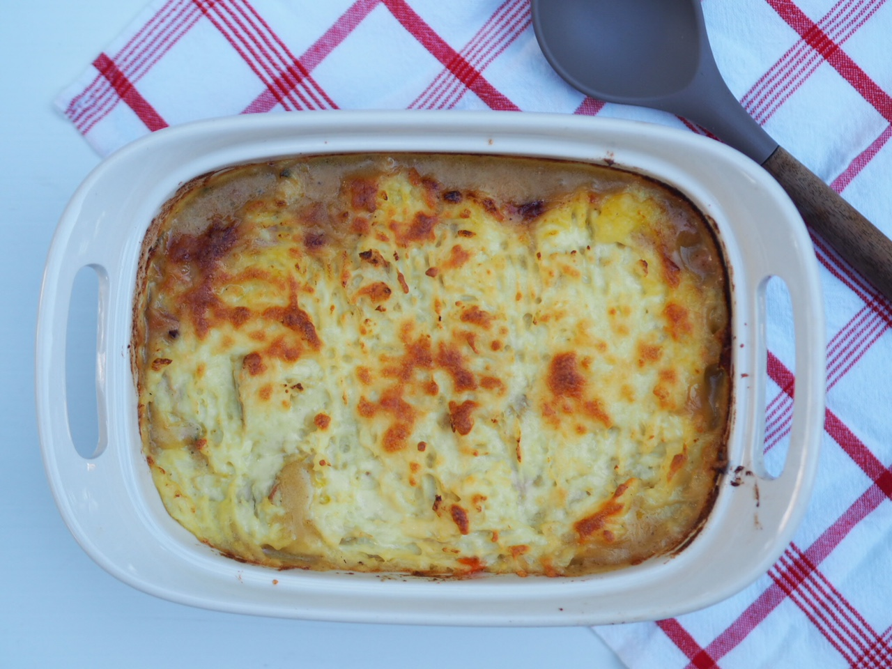 Chicken and Bacon Cottage Pie