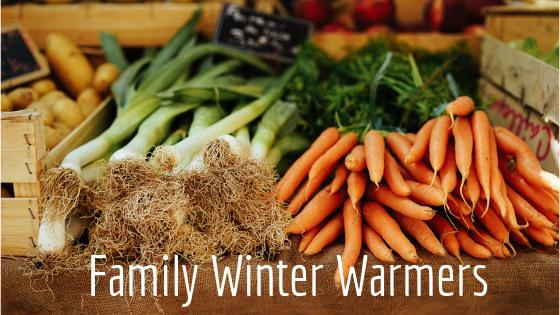 Family winter warmer recipes