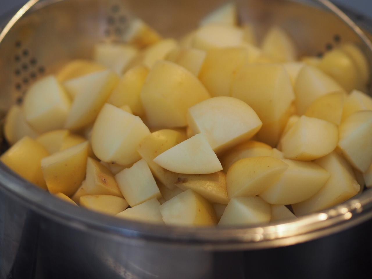Loaded Ham Potato Salad