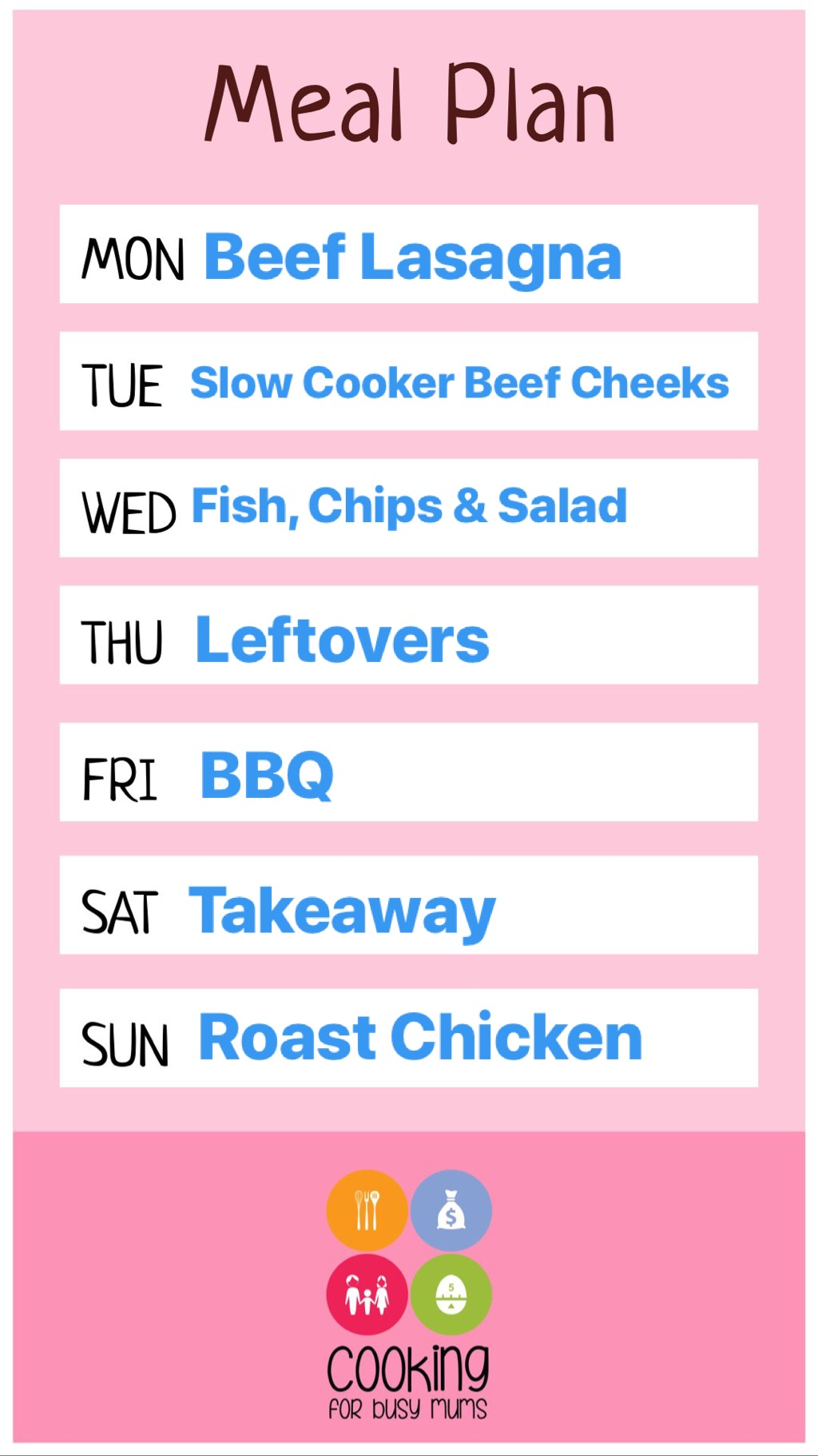 Meal Plan Monday #7