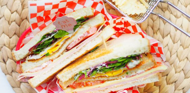 Homemade Club Sandwich